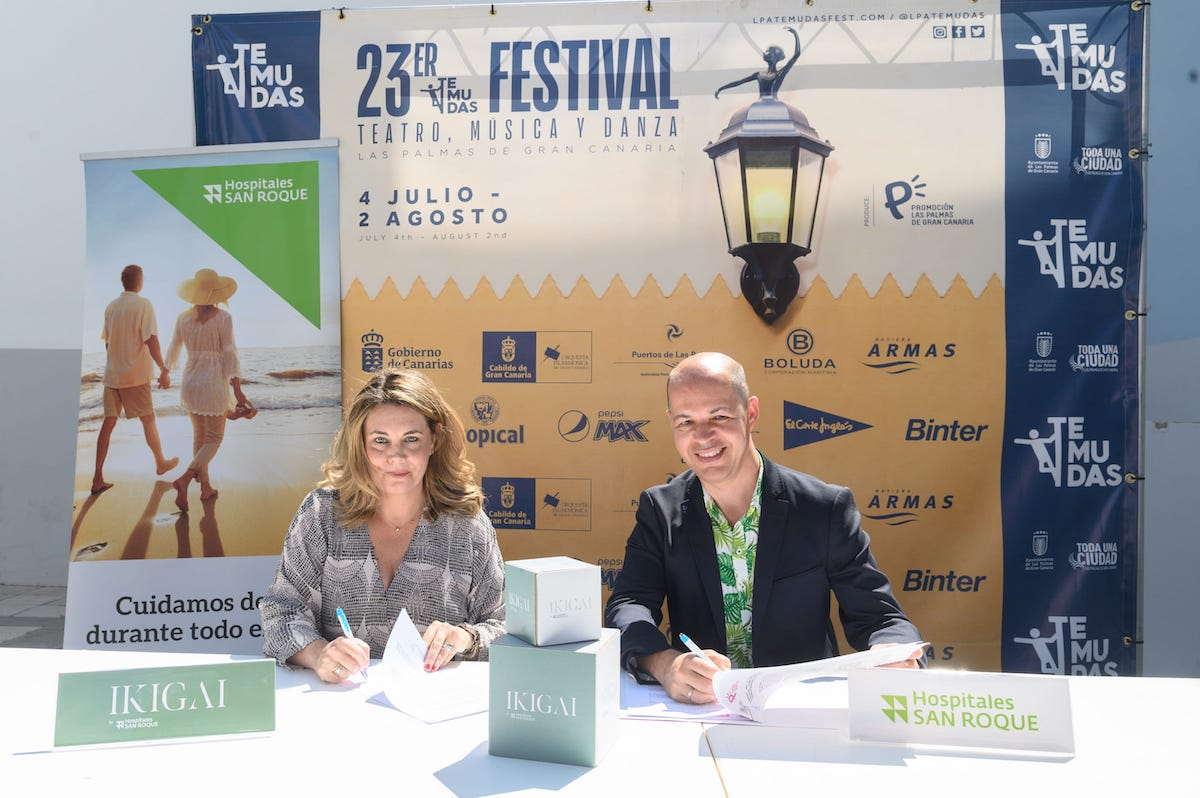 El Ayuntamiento y Hospitales San Roque renuevan por cuarto año su compromiso con los grandes eventos culturales de la ciudad
