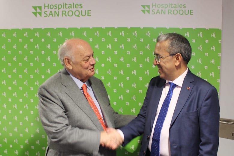 La ACPC y Hospitales Universitarios San Roque firman un acuerdo de colaboración que beneficia a más de 30 Colegios Profesionales de Canarias
