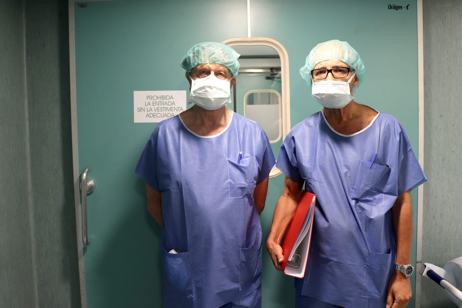 Apuesta por el desarrollo de la cirugía del Parkinson